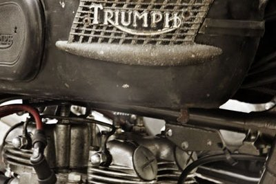 Triumph Bonneville TR6 by WrenchMonkees