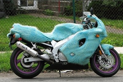 Urban Motorcycle Camouflage