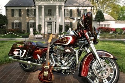 Vegas Elvis Harley-Davidson Street Glide Limited Edition up fo sale