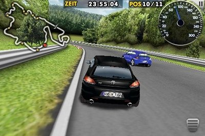 Volkswagen to release iPhone game featuring a VW Scirocco R