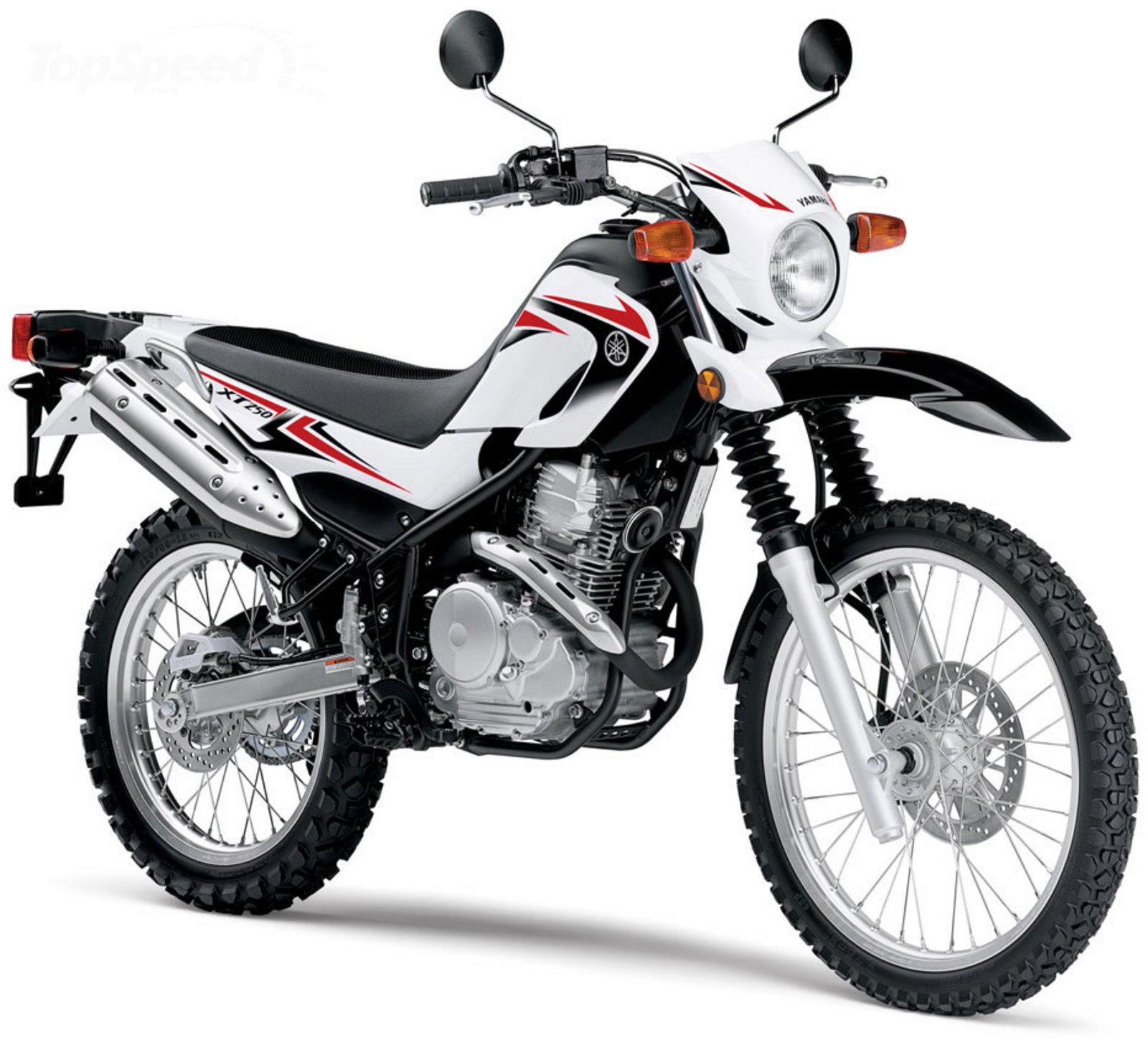 Motorcycle Review Top Speed: 2010 Yamaha XT250 Review