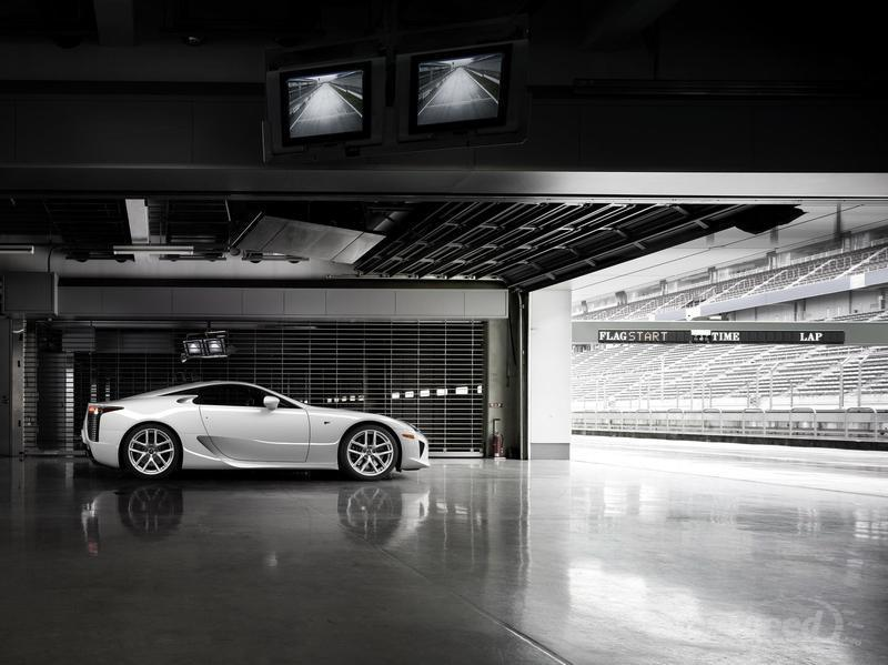 Wallpaper of the Day: 2011 Lexus LF-A