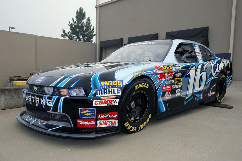 2010 Nascar Nationwide Ford Mustang