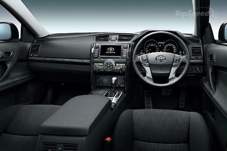 mark x images. 2010 Toyota Mark X - Top Speed