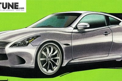 2012 Nissan Skyline Coupe rendered