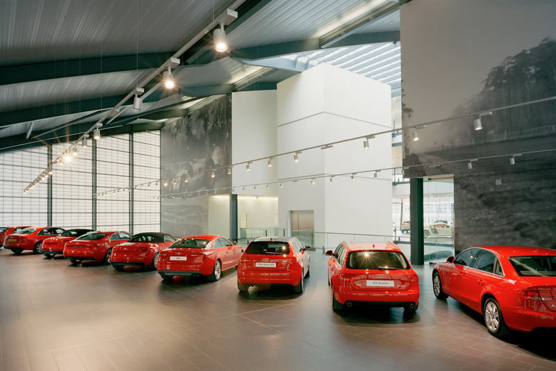 Audi opens largest dealership in London