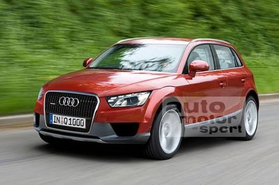 Audi Q1 - or how low a SUV can go