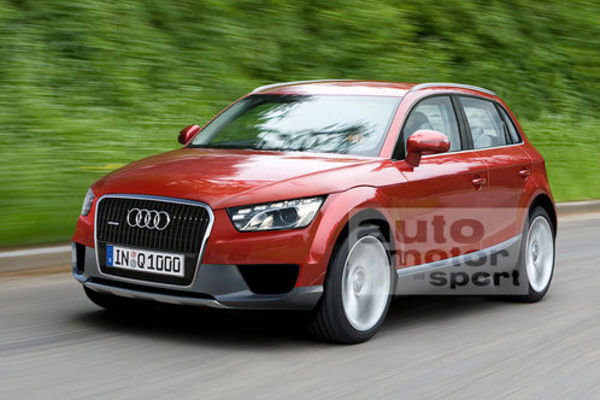 audi q1 - or how low a suv can go picture