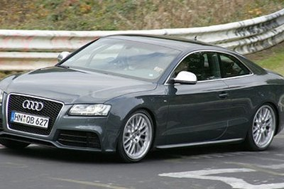 The Audi RS5 will be unveiled in Essen on November 28