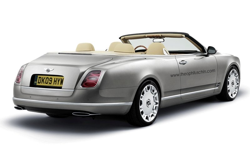 Bentley Mulsanne Cabriolet rendered
