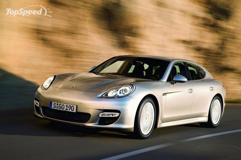 Convertible Porsche Panamera possibly in the works