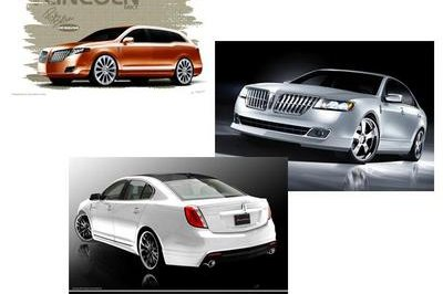 Customized Lincoln MKS, MKZ and MKT are coming to the 2009 SEMA Show