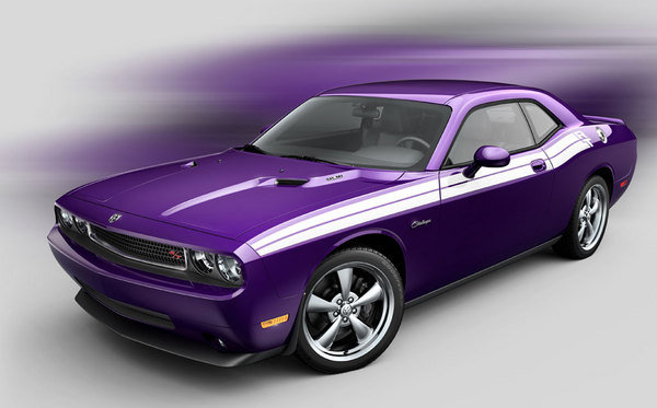 Drop Top Challenger >> 2009 Dodge Challenger SRT8 Plum Crazy Purple Review - Top Speed