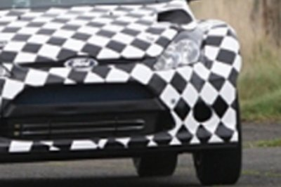 Ford Fiesta Rally Car Spied