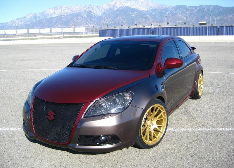 The Suzuki Kizashi will be well represented at SEMA with four unique creations