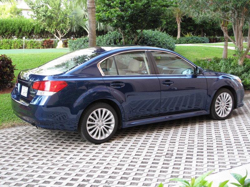 Initial thoughts: 2010 Subaru Legacy 2.5 GT Limited