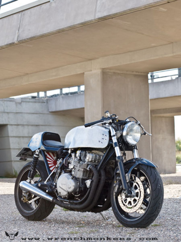 Kawasaki Z1000 A Caf 233 Racer By Wrenchmonkees Motorcycle