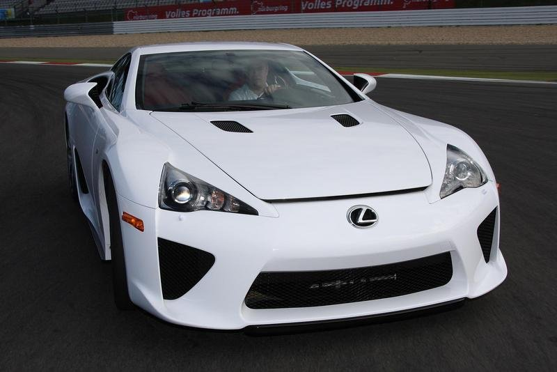 Lexus LF A Will Also Get Track Specifications