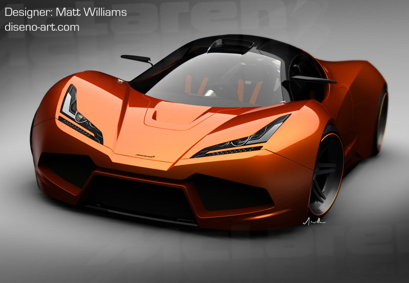 McLaren LM5 Concept by Matt Wlliams