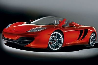 McLaren Spider in the works