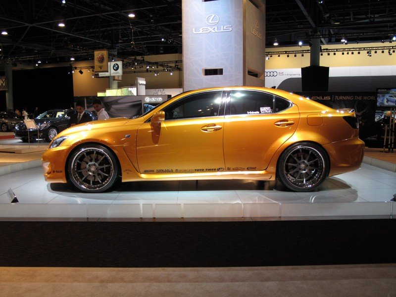 Lexus IS-F by Fox Marketing at the 2009 South Florida International Auto Show - image 329592