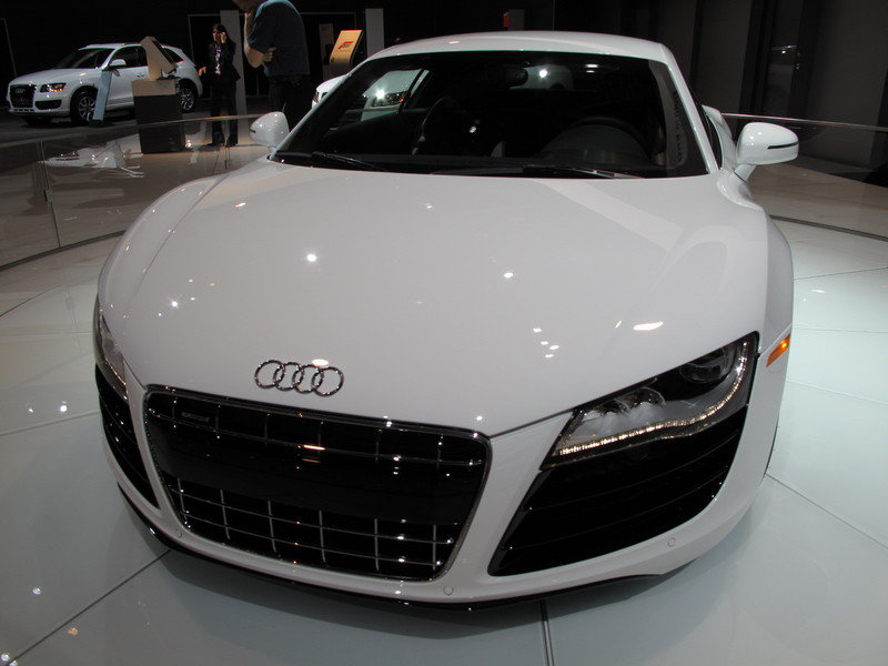 Audi Brings The V10 R8 To The 2009 South Florida International Auto