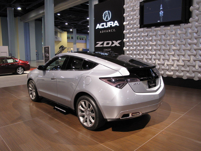 Acura brings the ZDX concept to the 2009 South Florida International Auto Show