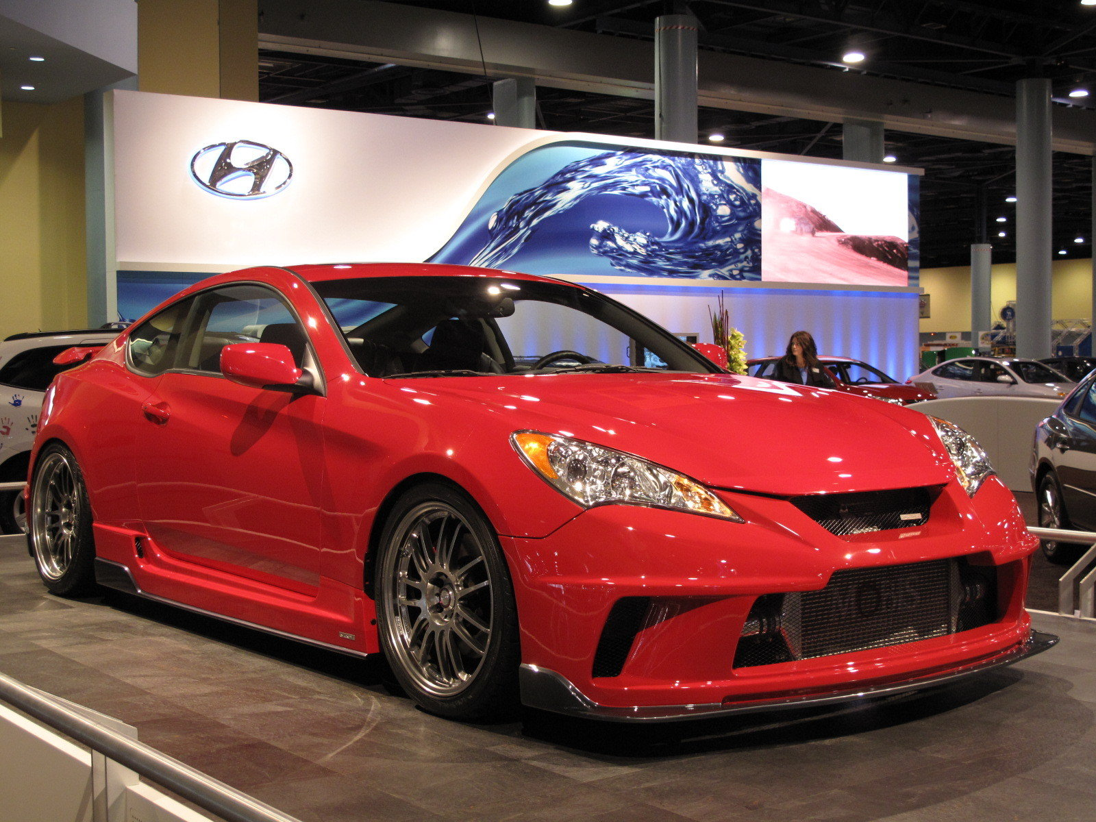 Hyundai Brings The Hks Genesis Coupe To The 2009 South