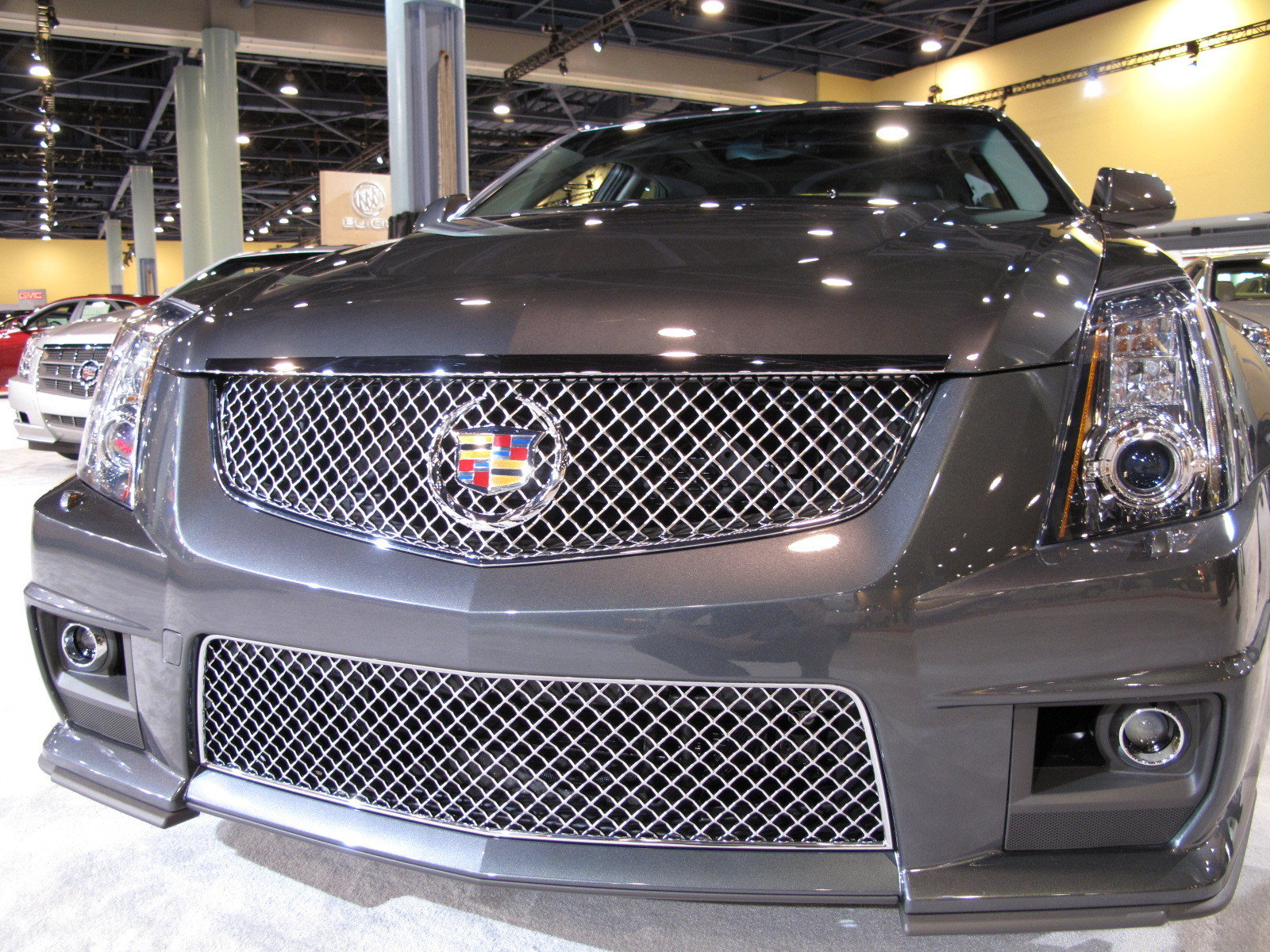 cadillac cts v at the 2009 south florida international. Black Bedroom Furniture Sets. Home Design Ideas