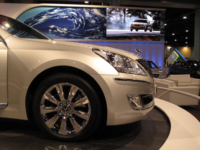 Hyundai brings the Equus to the 2009 South Florida International Auto Show