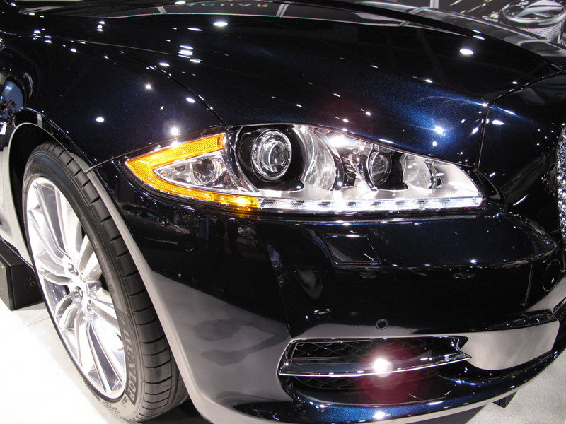 The Jaguar XJ wins the 2009 South Florida International Auto Show Star of the Show Award