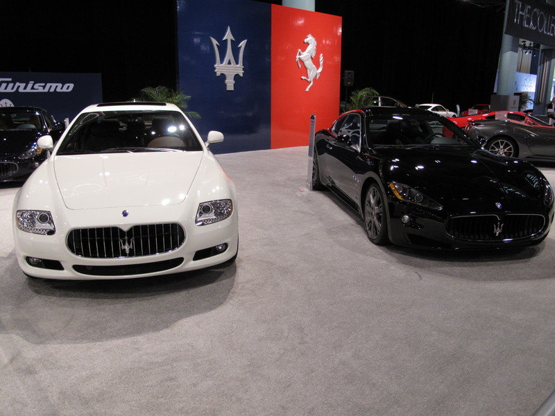 Maserati at the 2009 South Florida International Auto Show