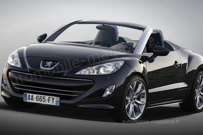 Peugeot RCZ Roadster in the works