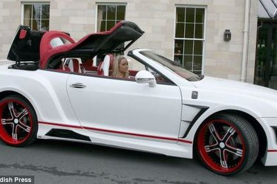 Pimped out Bentley Continental GTC Stephen Ireland style
