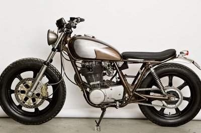 The other Yamaha SR 500 by WrenchMonkees