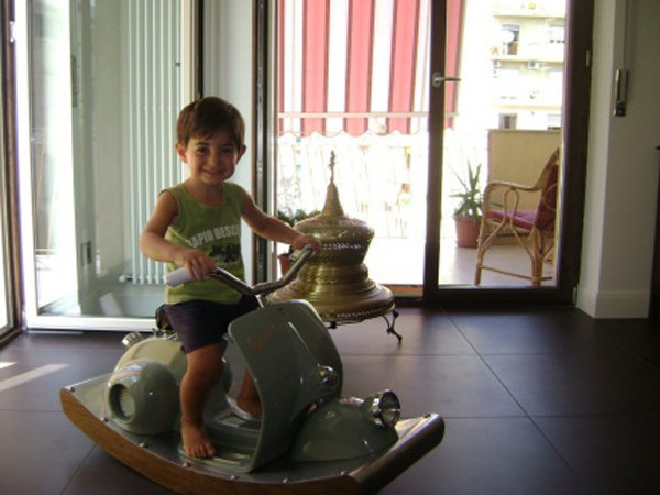 the vespa rocking horse picture