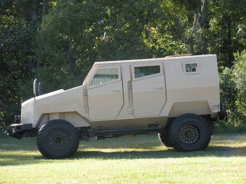 MDT Tiger Protected Vehicle by Arotech