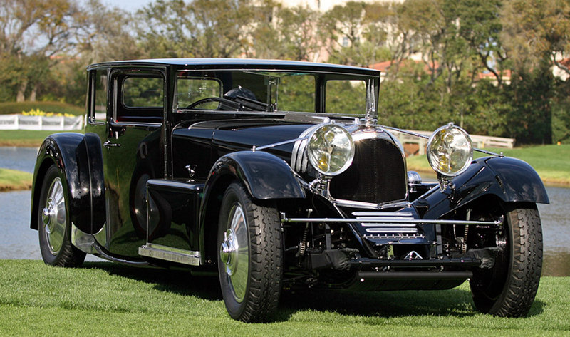 "1931 Voisin C20 ""Mylord"" Demi-Berline on auction at Amelia Island"