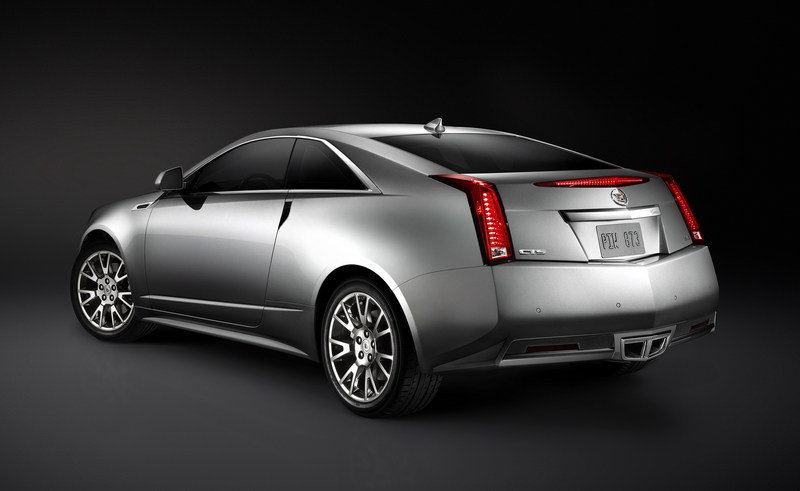 Cadillac unveils the CTS Coupe at the 2009 LA Auto Show