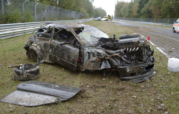Bmw M3 Destroyed On The Nurburgring News Top Speed