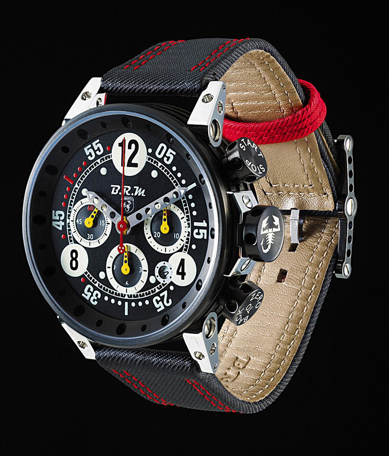 BRM releases limited edition Abarth V12-T-44 timepiece