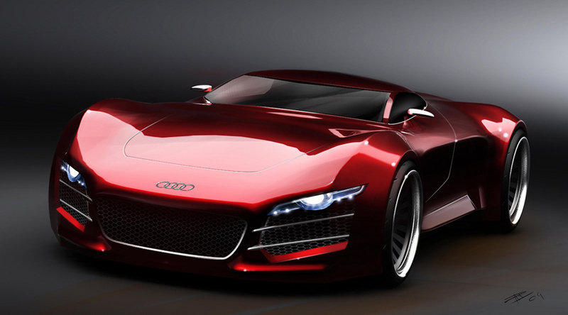 Swedish designer renders Audi R10 supercar