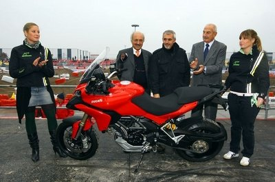Ducati Multistrada 1200, the most beautiful bike from EICMA 2009
