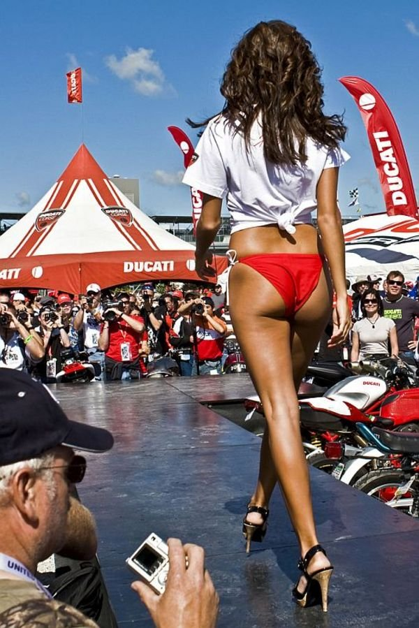 Street Fighter Motorcycle >> GP Girls Show Off At Ducati Fashion Show - Picture 333766 ...