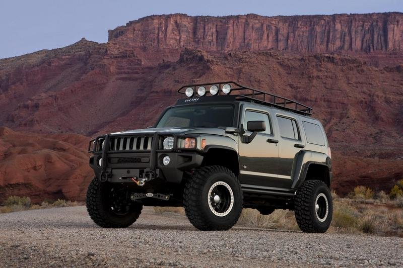 hummer h3 reviews specs prices photos and videos top. Black Bedroom Furniture Sets. Home Design Ideas
