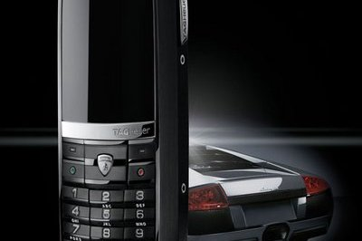 Lamborghini and Tag Heuer team-up to create limited edition mobile phone