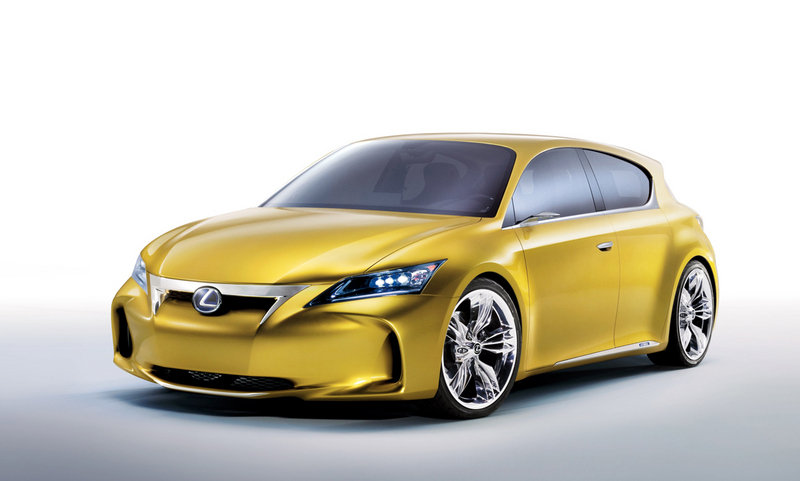 Lexus LF-Ch Concept could be going into production by 2012