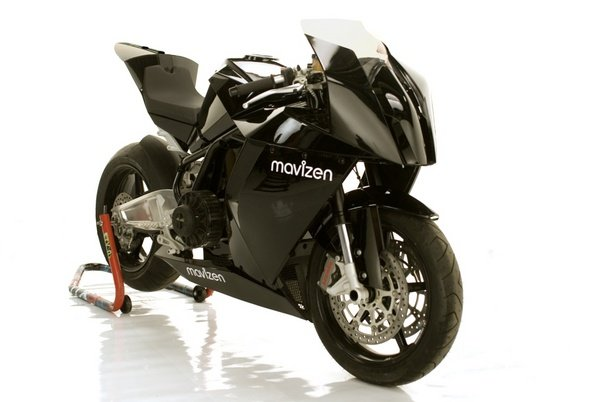 mavizen takes the wraps off 130mph ttx02 electric racebike at sema picture