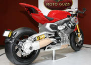 Moto Guzzi unveils three amazing concepts at EICMA 2009: V12 LeMans, V12 X and V12 Strada - image 332977