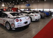 What dreams are made of, one long line of Nissan GT-Rs at the 2009 SEMA Show - image 333556